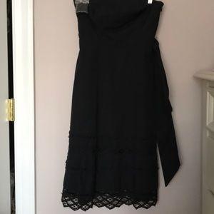 Ann Taylor Loft Strapless Cotton Dress